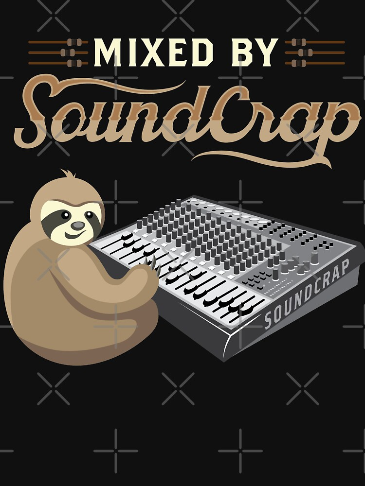 RedBubble: Mixed by Soundcrap Funny Sound Guy FOH Tech Engineer
