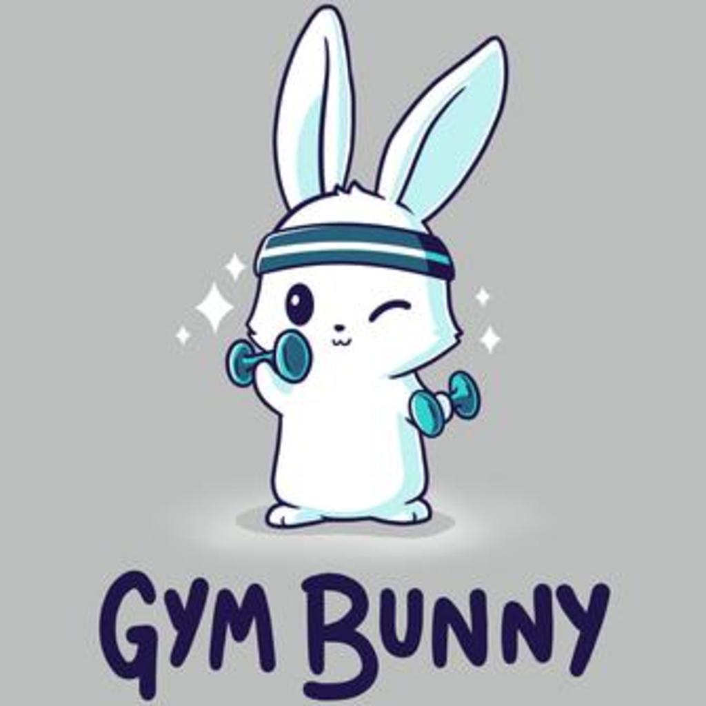 TeeTurtle: Gym Bunny