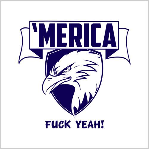 Five Finger Tees: 'Merica T-Shirt