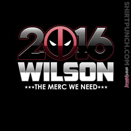 ShirtPunch: Vote Merc
