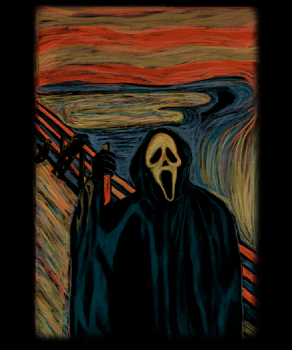 Qwertee: The Screaming Ghostface