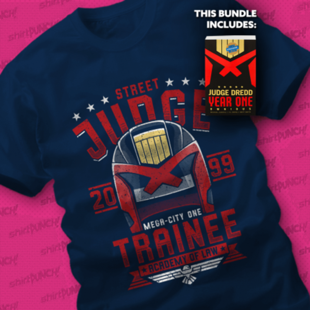ShirtPunch: I AM THE LAW BUNDLE