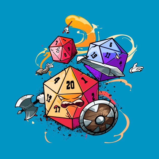 TeePublic: Dice Warriors