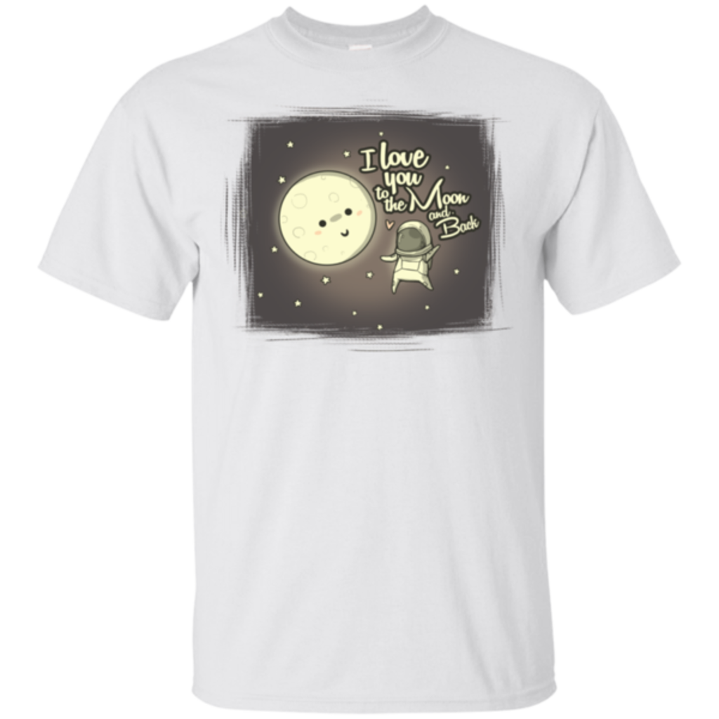Pop-Up Tee: Moon and Back