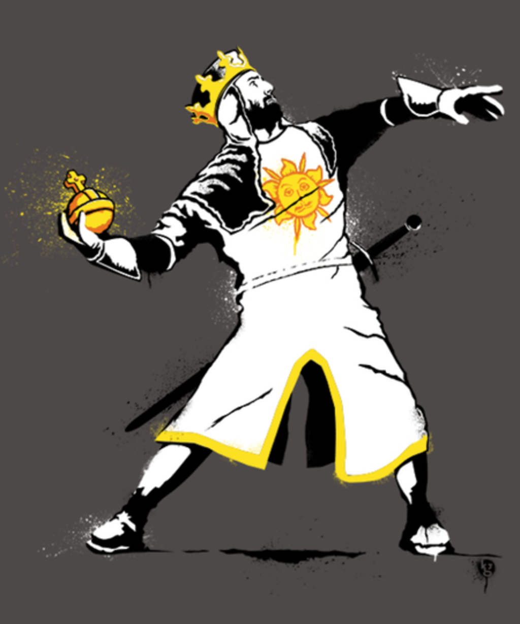 Qwertee: Banksy Python 1-2-5