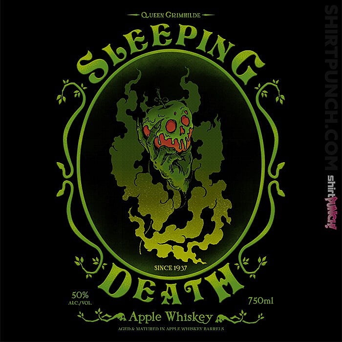 ShirtPunch: Sleeping Death Whiskey