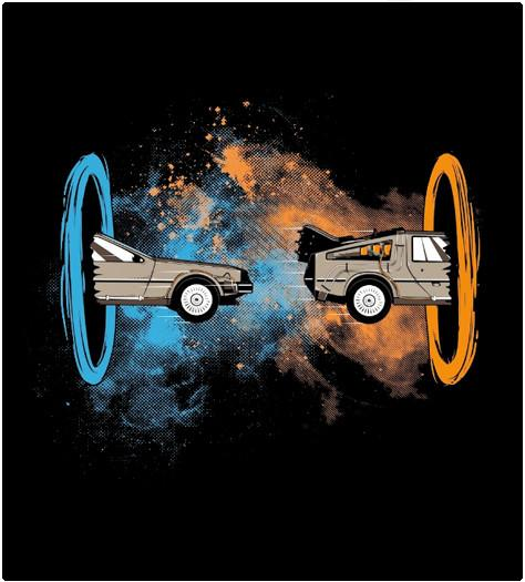 Shirt Battle: Back to the DeLorian