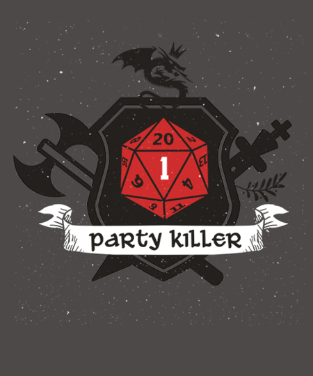 Qwertee: Party Killer