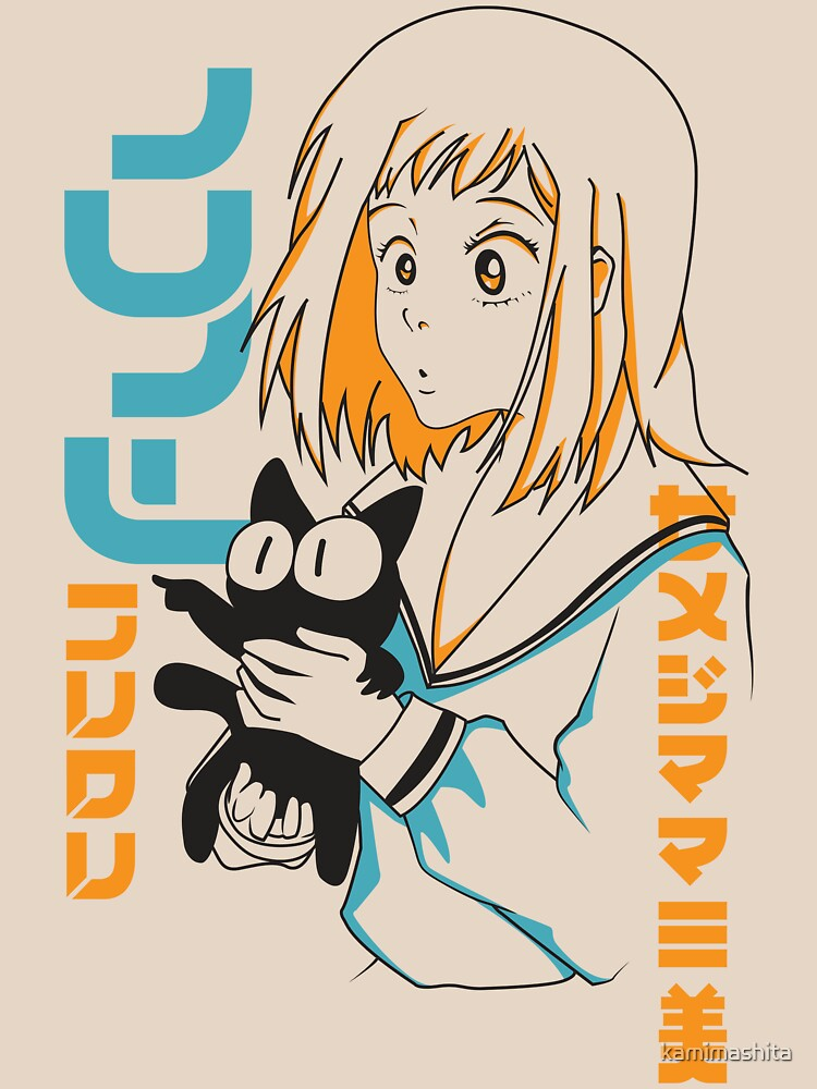 RedBubble: FLCL Mamimi and Ta-kun