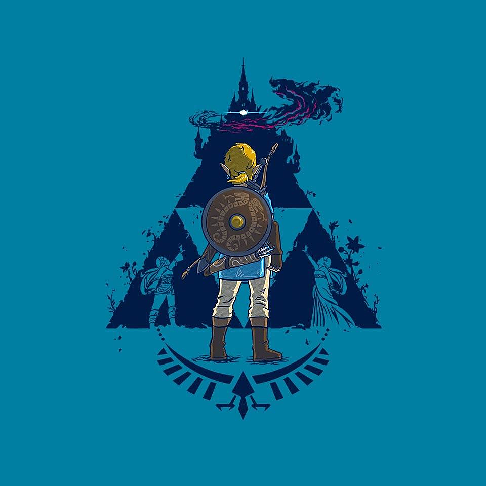 TeeFury: Breathe Blue Variant