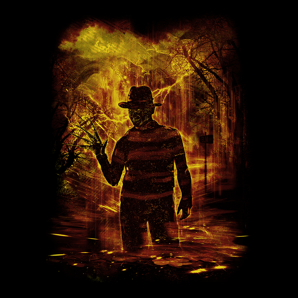 Pop-Up Tee: Elm Street Storm
