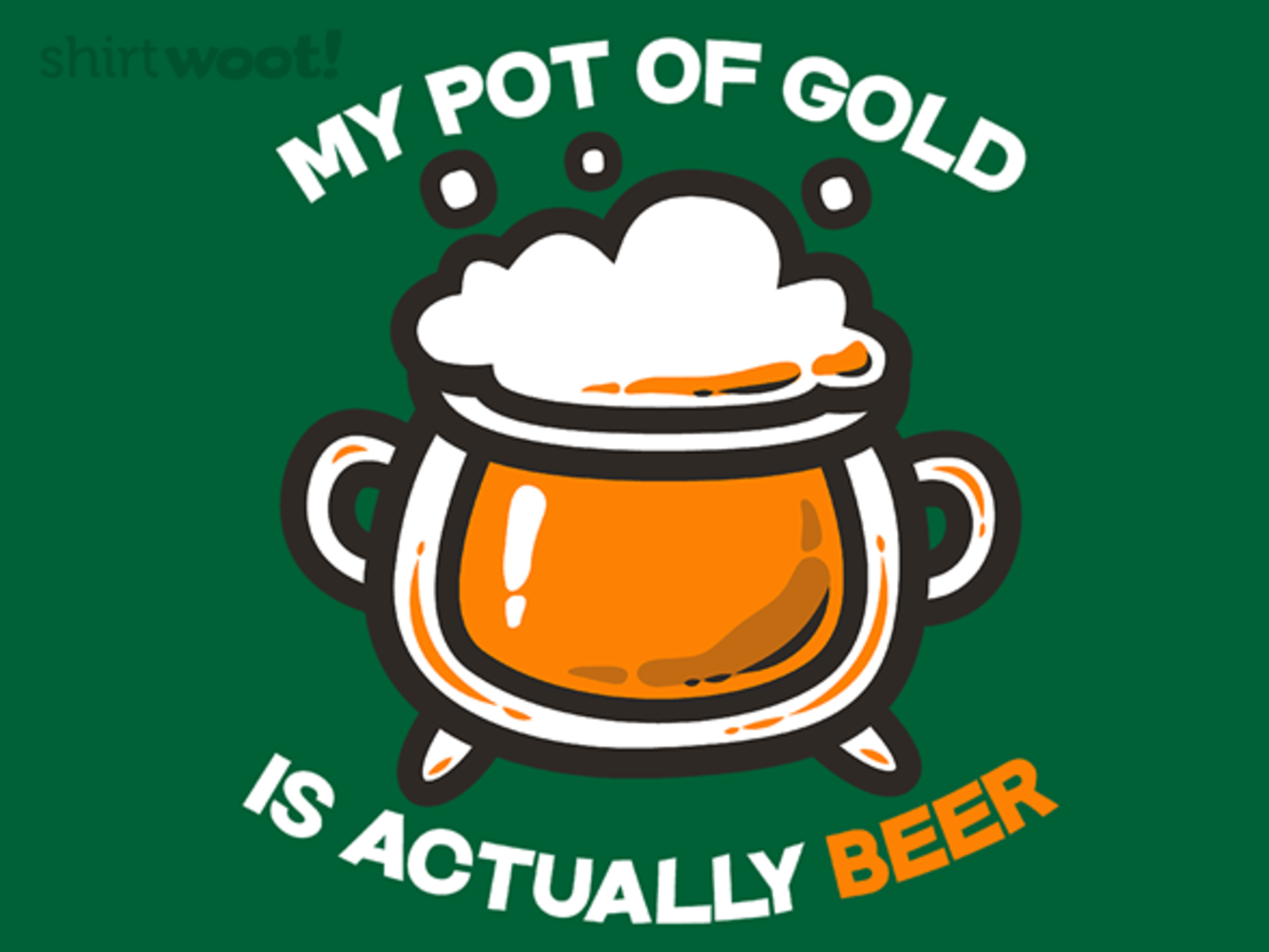 Woot!: My Pot of Gold - $8.00 + $5 standard shipping