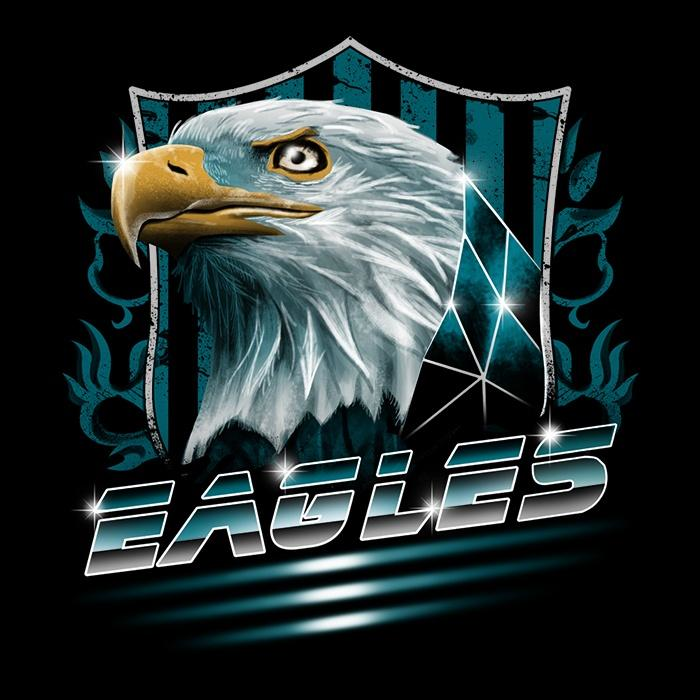 Once Upon a Tee: Rad Eagles