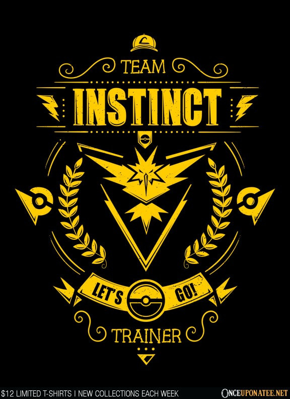 Once Upon a Tee: Team Instinct