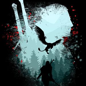 Qwertee: Silent Hunter