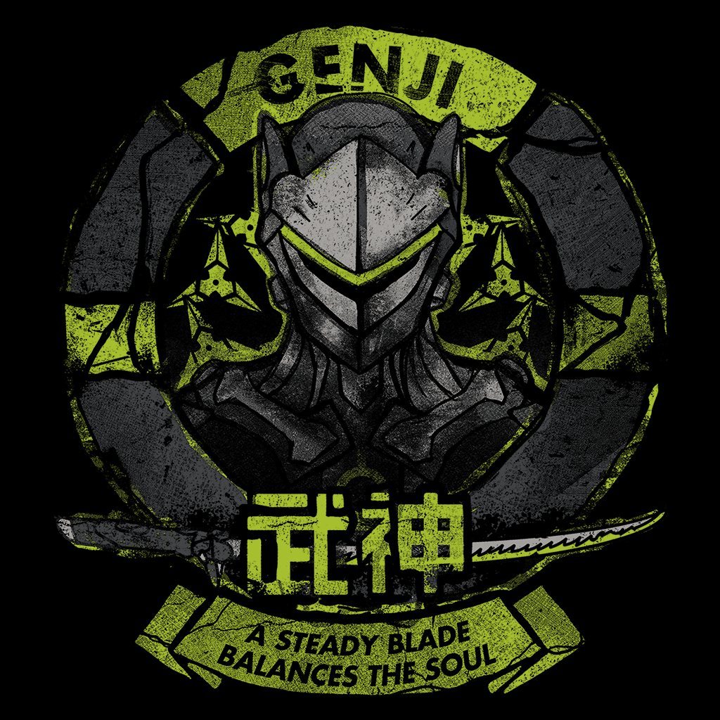 Pop-Up Tee: Genji Blade