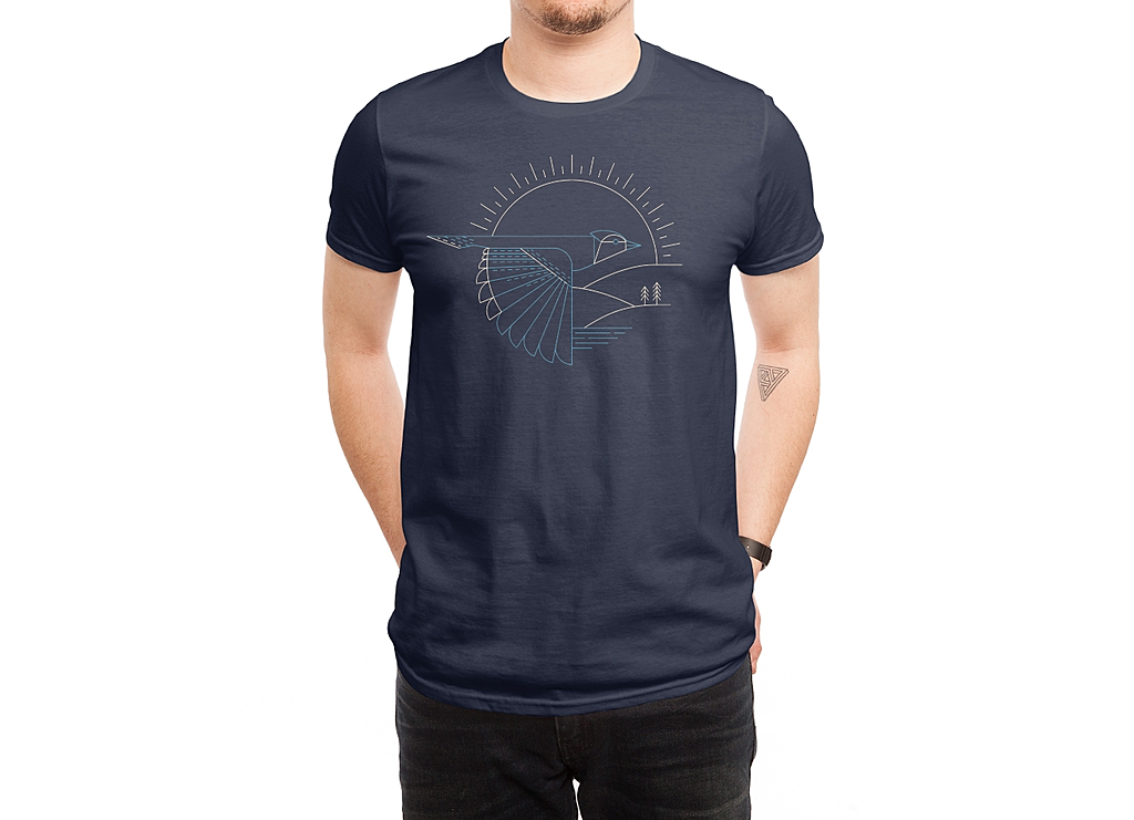Threadless: Blue Jay