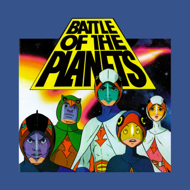 TeePublic: Battle Of The Planets G-Force