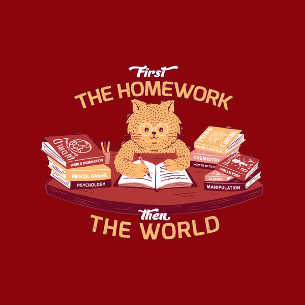 NeatoShop: First the homework, then the world
