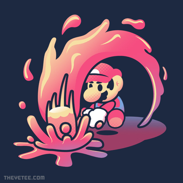 The Yetee: Plumber Paint