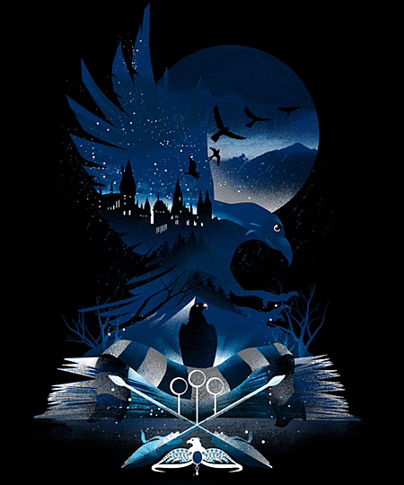 Qwertee: Book of Ravenclaw