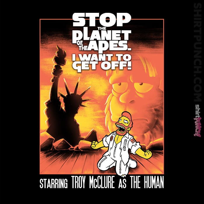 ShirtPunch: Stop The Planet! The Musical
