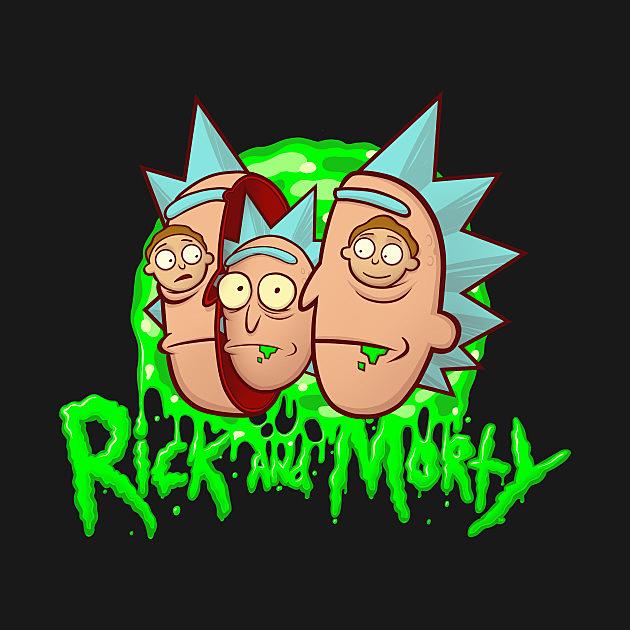 TeePublic: Rick and Morty and Rick and Morty Portal