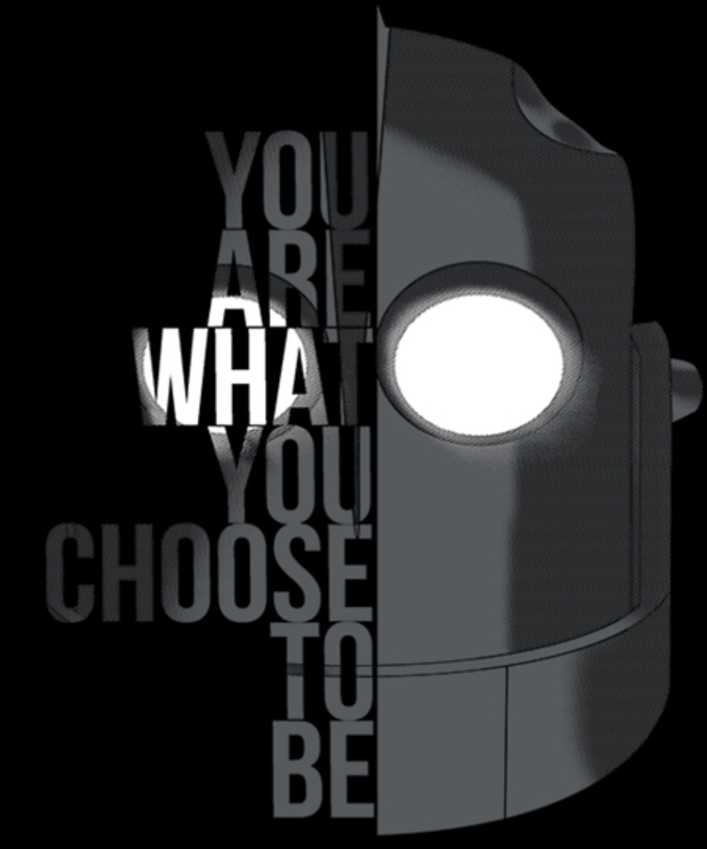 Qwertee: You are what you choose to be...