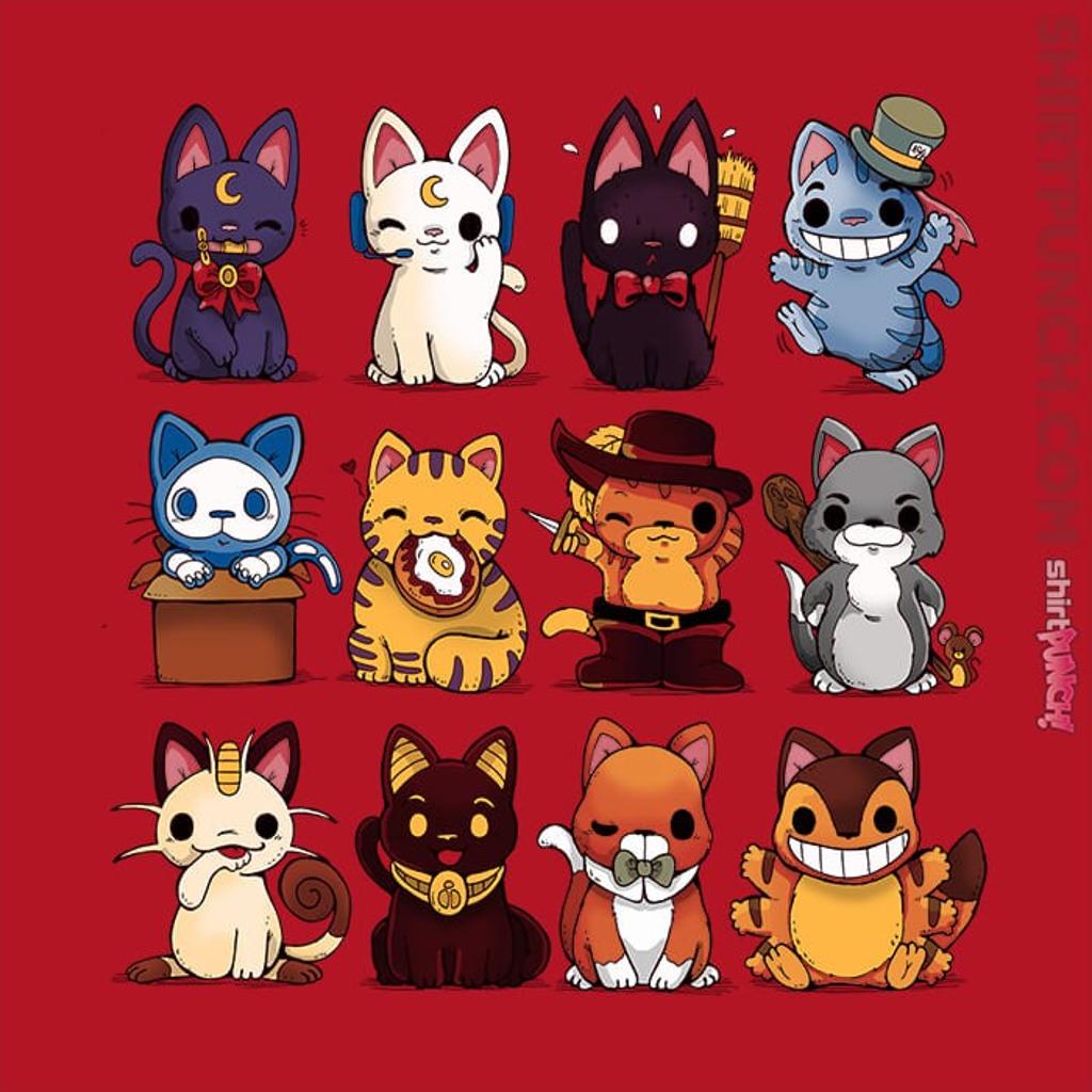 ShirtPunch: Nerd Kittens