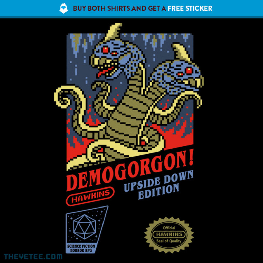 The Yetee: DEMOGORGON!