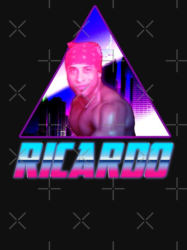 RedBubble: Ricardo Milos 80's Aesthetic