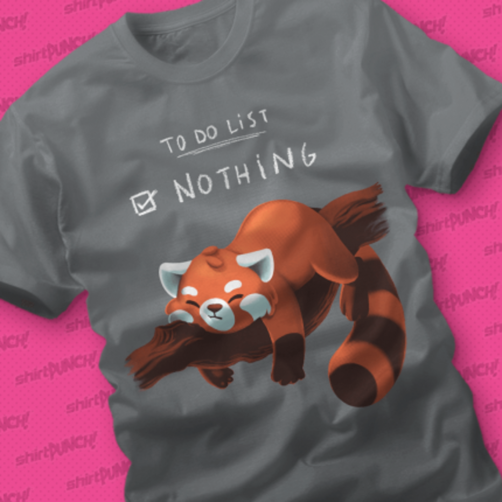 ShirtPunch: Red Panda Day