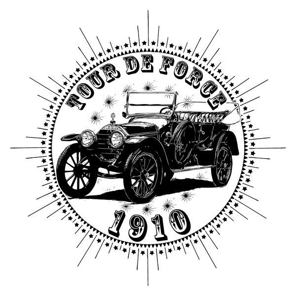 NeatoShop: Vintage Classic Car 1910 Tour De Force Merc