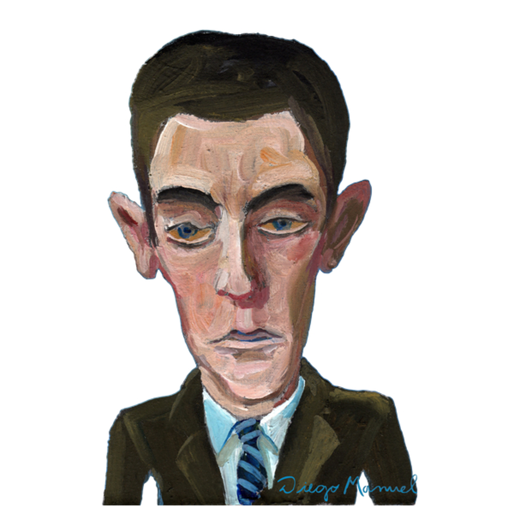 NeatoShop: Franz Kafka portrait B
