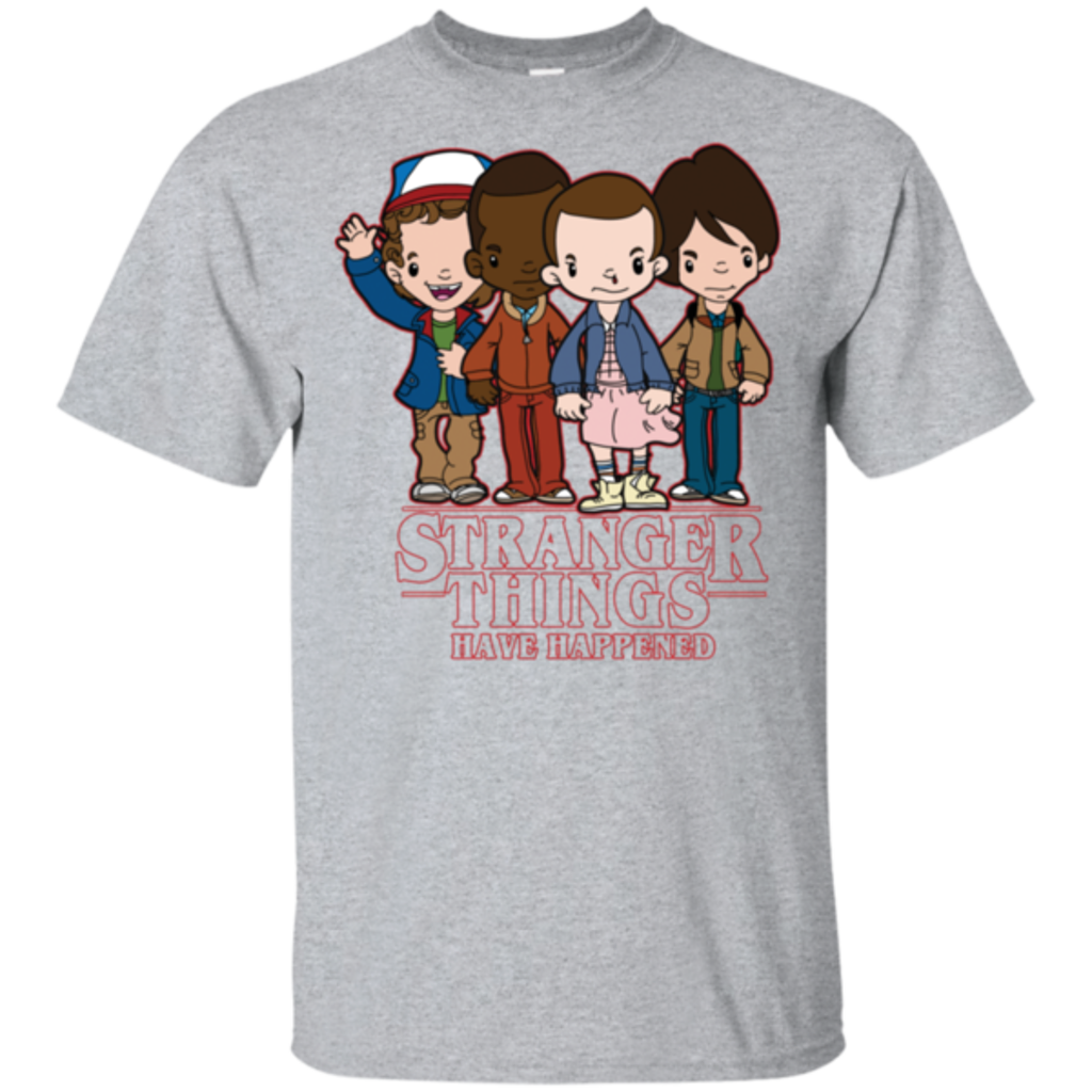 Pop-Up Tee: Stranger Things Have Happened