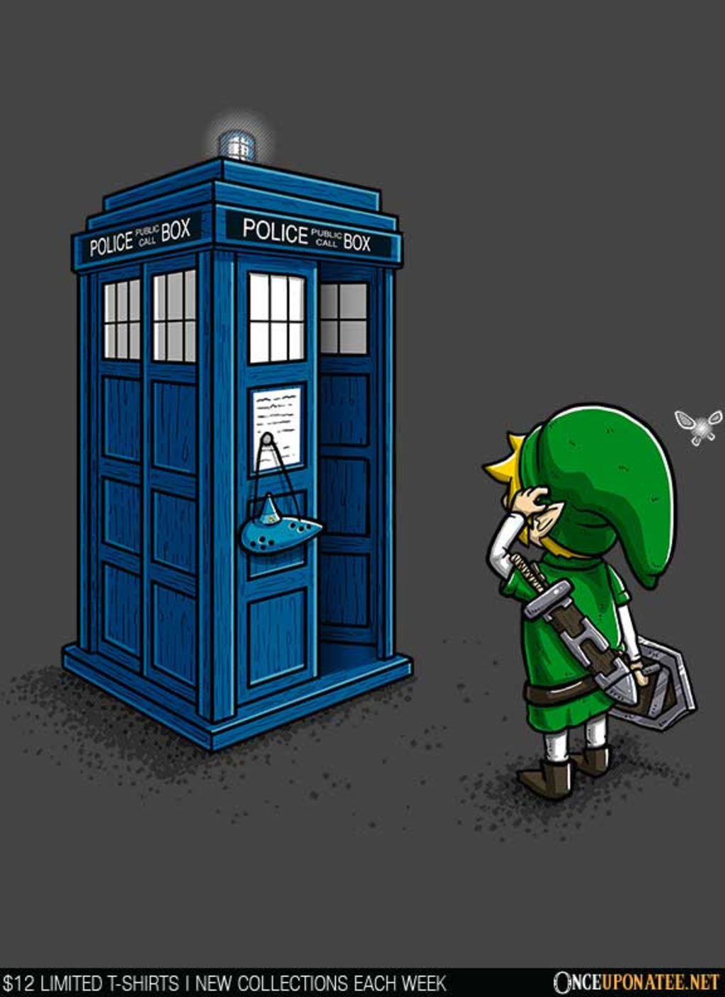 Once Upon a Tee: Ocarina of Time Travel