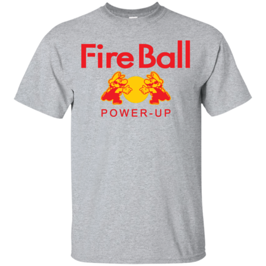 Pop-Up Tee: Fire Ball