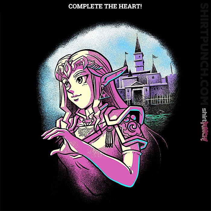 ShirtPunch: His Princess