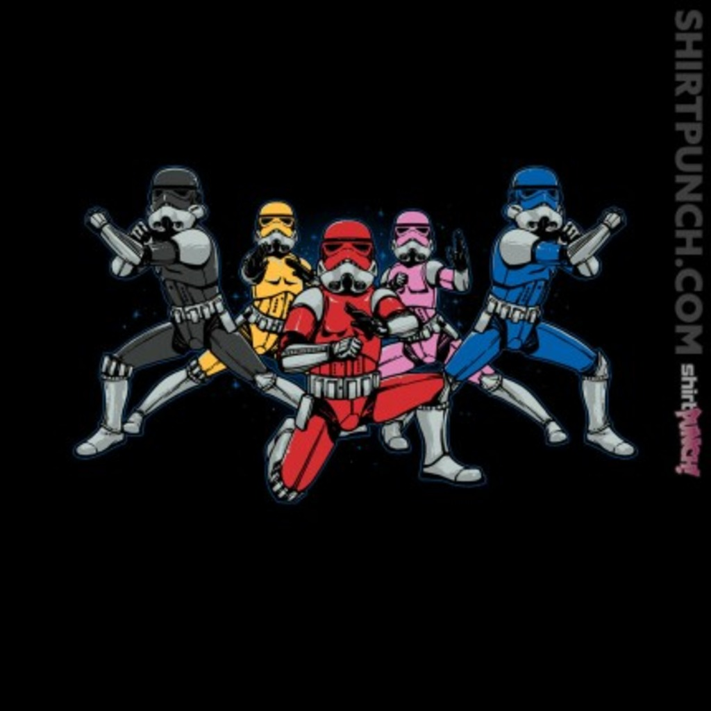 ShirtPunch: Power Troopers
