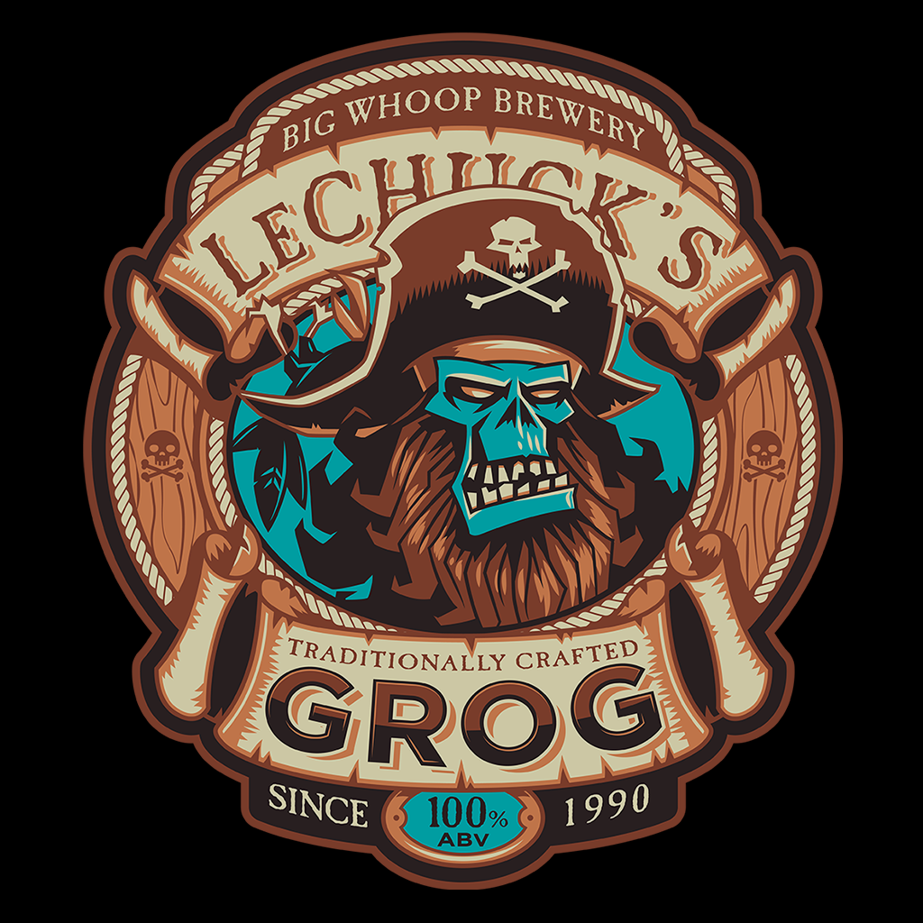 Pop-Up Tee: Ghost Pirate Grog