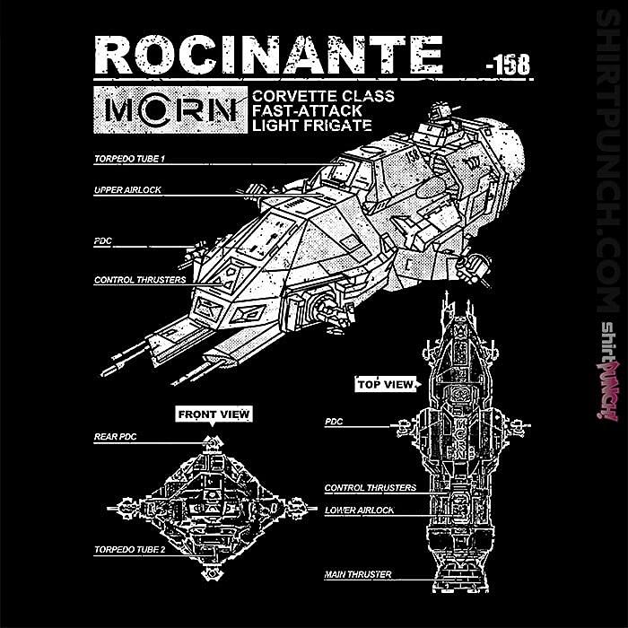 ShirtPunch: Rocinante Specs