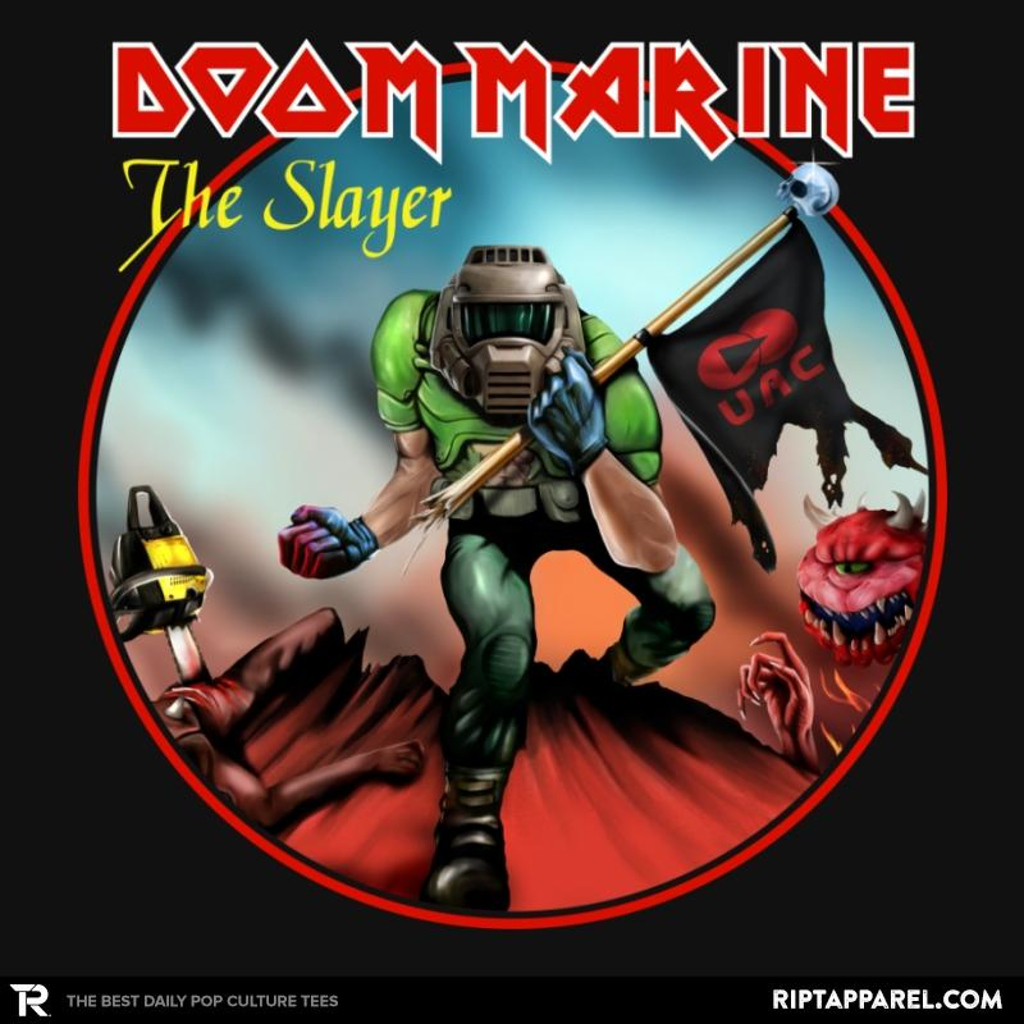 Ript: Doom Marine Cover