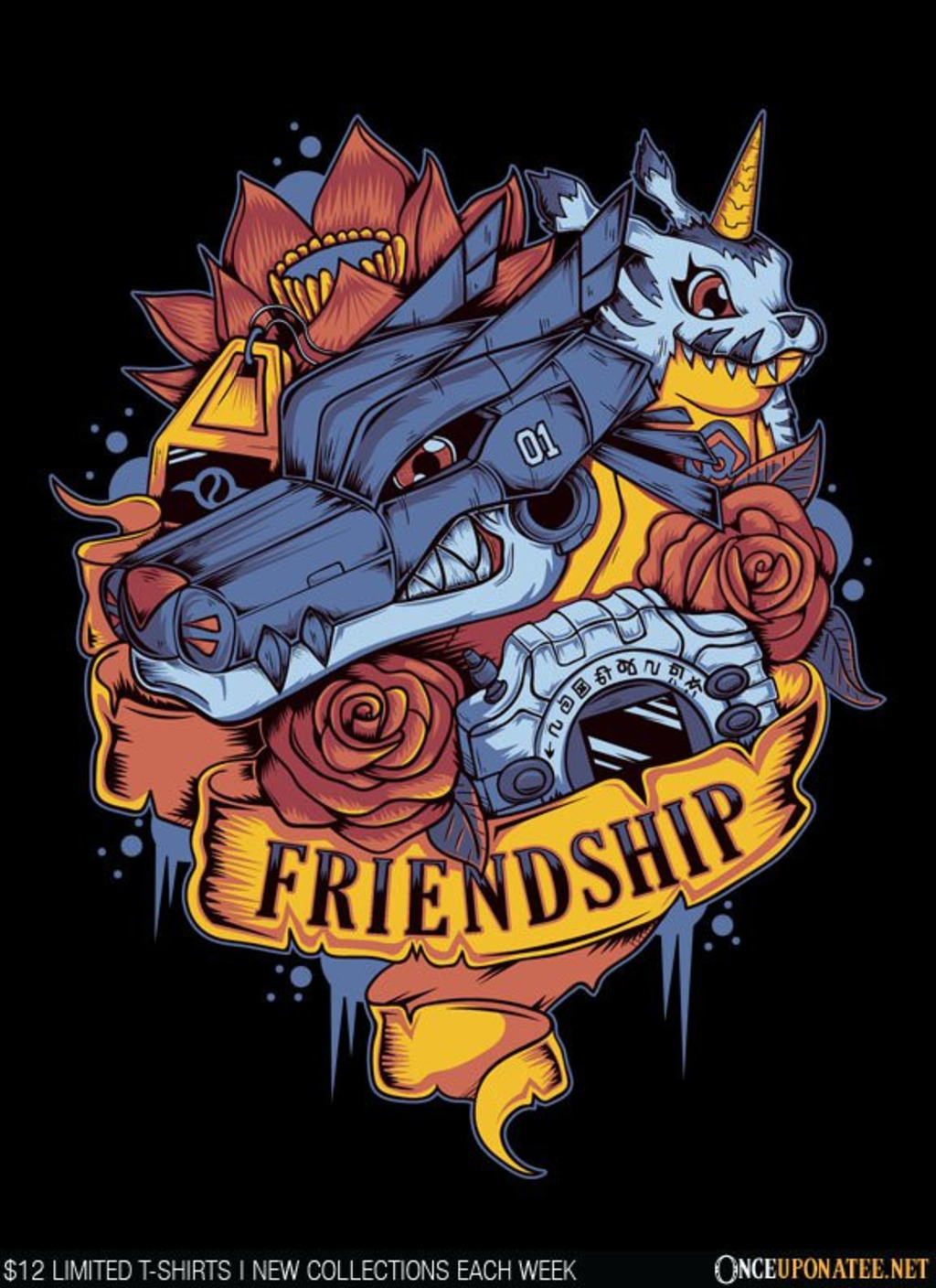 Once Upon a Tee: Friendship Power
