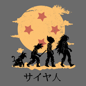 Shirt Battle: Dragon Ball