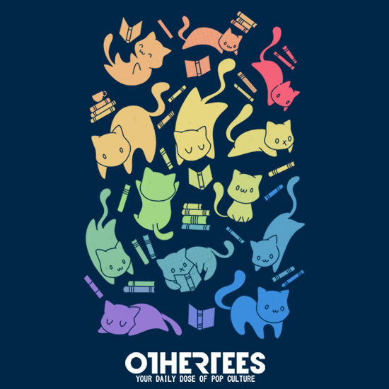 OtherTees: Cats & Books