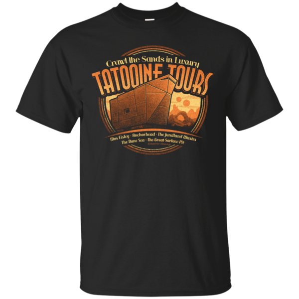 Pop-Up Tee: Tatooine Tours