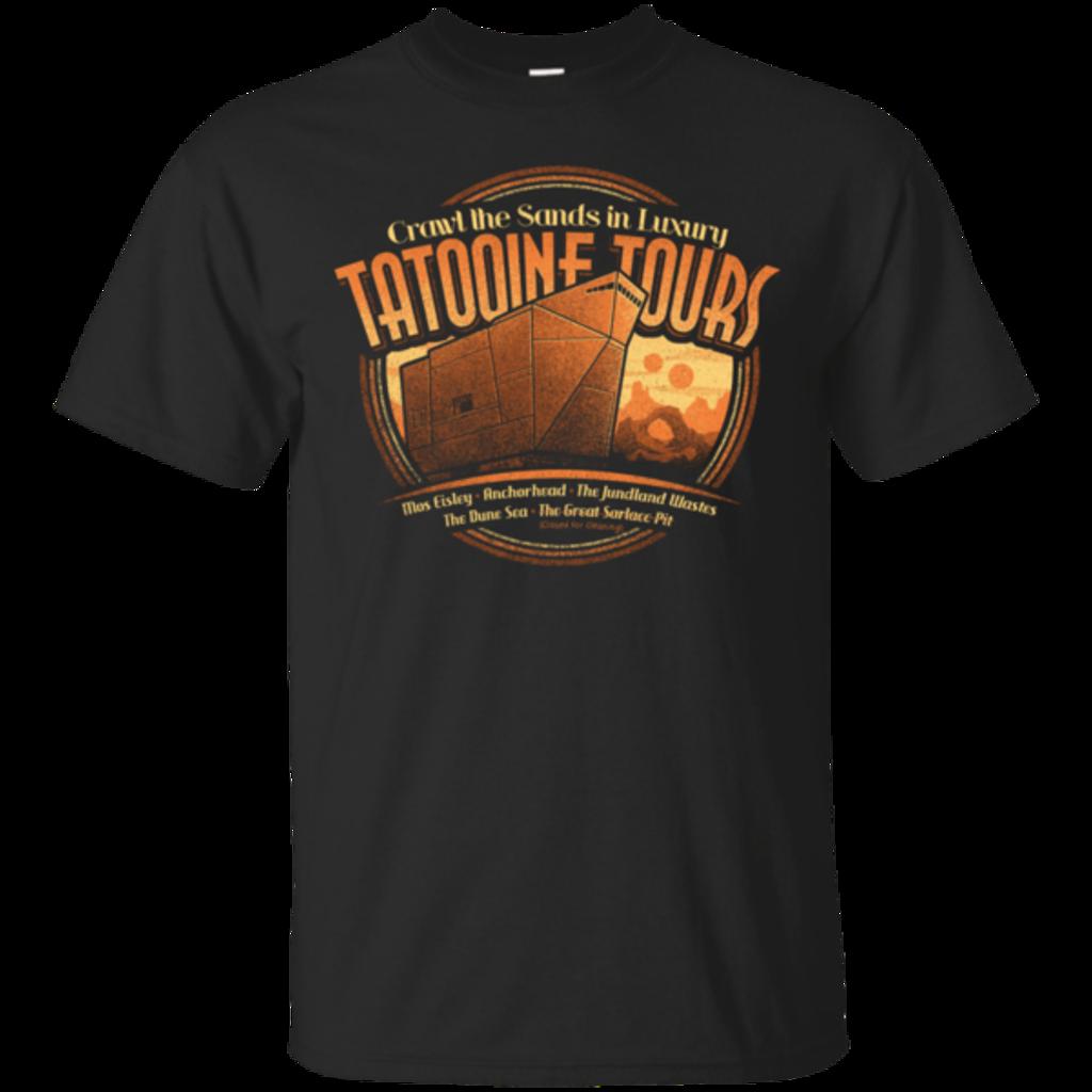 Pop-Up Tee: Tatooine Tours