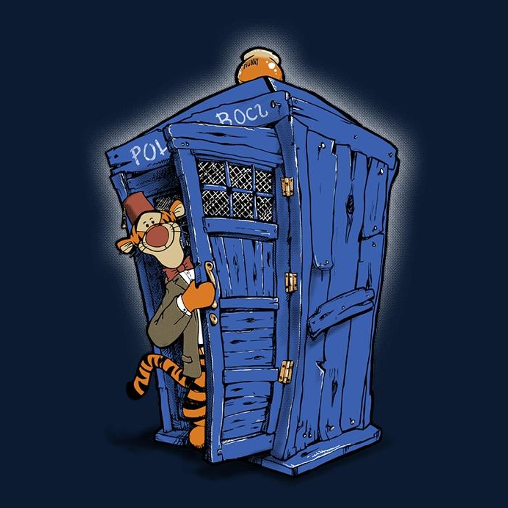 Once Upon a Tee: Tigger on the Inside