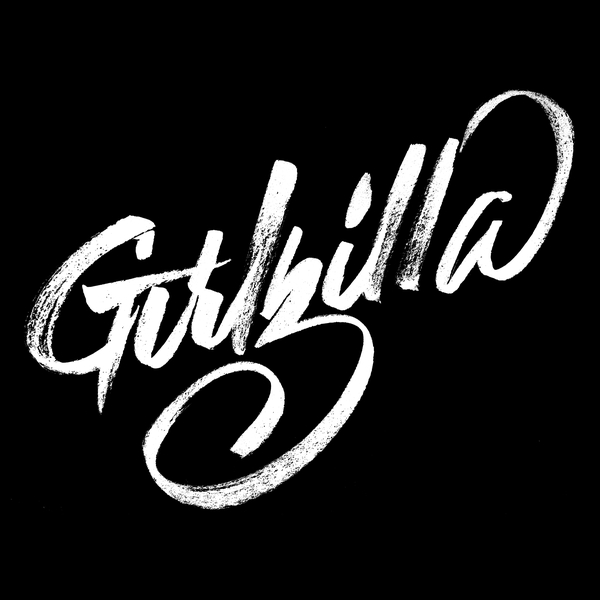 NeatoShop: Girlzilla - White Typeface