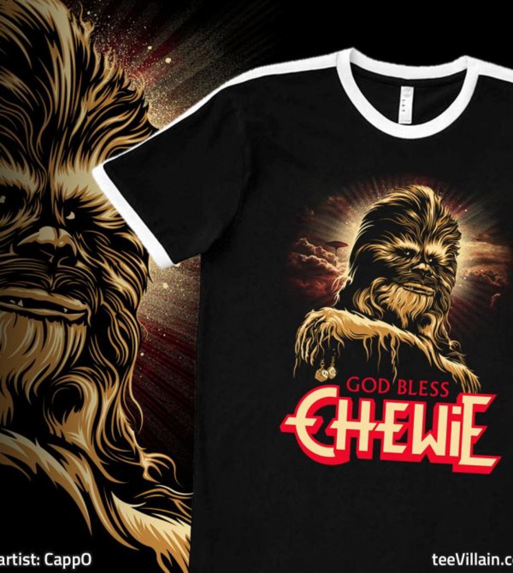 teeVillain: God Bless Chewie